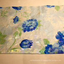 Эластан Ткань с хлопковым нейлоном с печатью