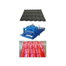 Máquina formadora de chapas de aço para telhas em cor QJ