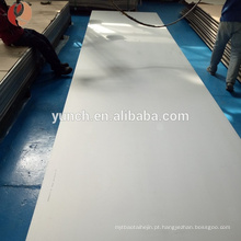 Placa de titânio de alta resistência para fabricantes profissionais