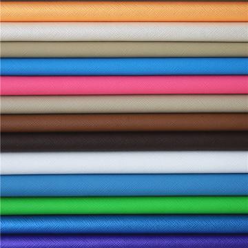 Couro sintético barato do couro sintético por atacado do PVC para a decoração