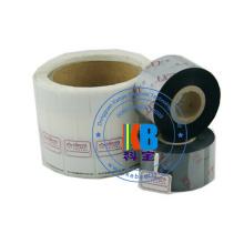 Fita de alta qualidade TTR 110 * 300 da transferência térmica da cor para a impressora do código de barras da zebra