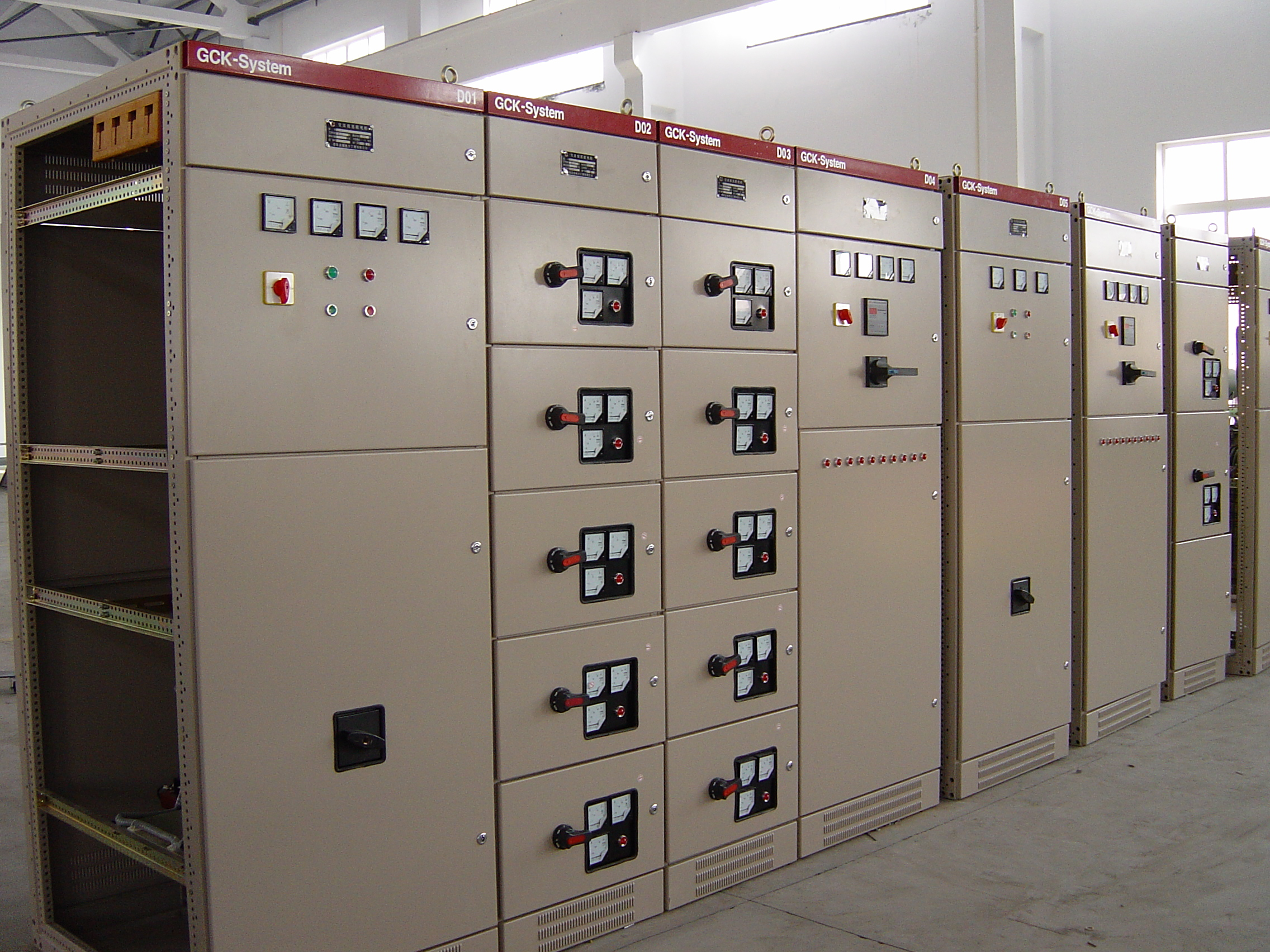 LV switchgear GCK