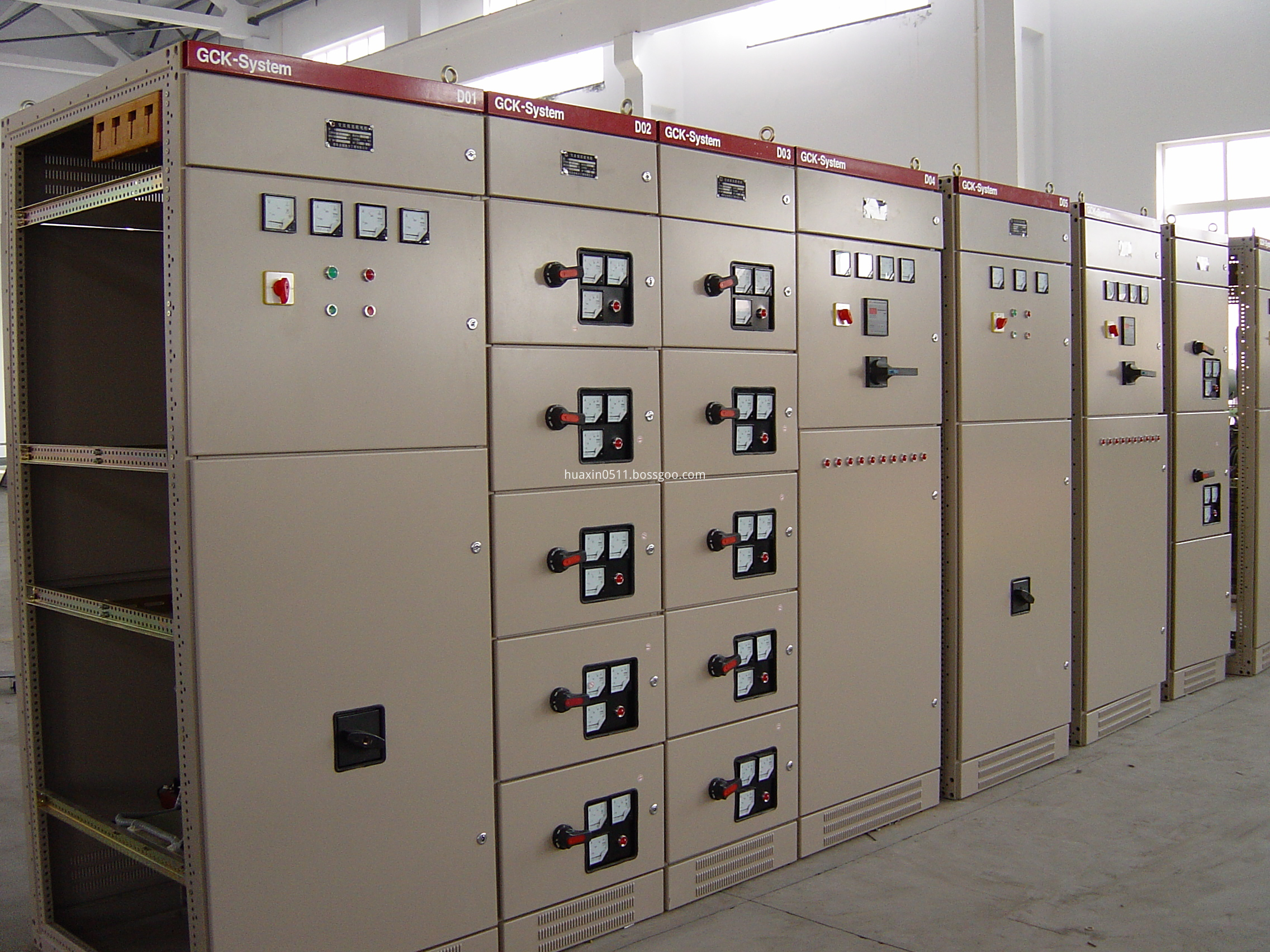 LV switchgear GCK