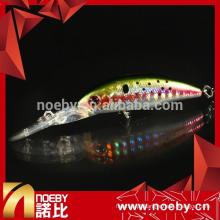 NBL 9055 longa grande placa de mergulho de língua dura minnow isca de pesca isca