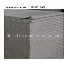 Carcaça de tecido sólida para correia transportadora