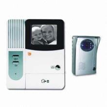 Handsfree Video Doorphone with CMOS Metal Housing Camera
