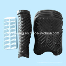 Schwarzer Kunststoff-Blister-Behälter (HL033)