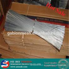 Acero inoxidable o hierro recto Corte de alambre hecho en China