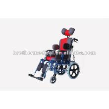 Cadeira de rodas para crianças com paralisia cerebral