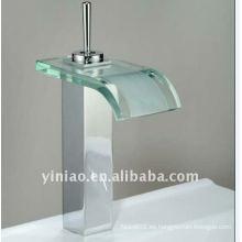 Grifo de lavabo de vidrio G001-E