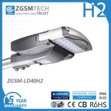 40W IP66 Solar luz de calle del LED para la iluminación de carreteras camino de estacionamiento