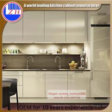 2016 Новый акриловый деревянный кухонный шкаф