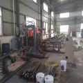 Línea de punzonado y corte de acero CNC y acero de banda.