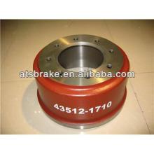 Brake drum for trucks, rear brake drum