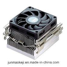 Refroidisseur d'air CPU à extrusion radiante avec ventilateur