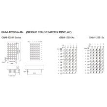 1.2 Inch, 3.0X3.0 Panel (GNM-12591Ax-Bx)