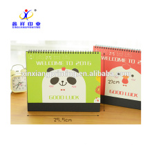 Earth-friendly New Design Promotional Cheap Price Table Calendar,320g