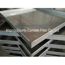304 Stainless Steel Punched Metal Mesh Tray
