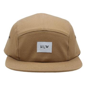 Chapeau / chapeau de Snapback de la conception 5 de vente chaude faite sur commande de la conception 2017 avec le logo tissé de correction d'étiquette