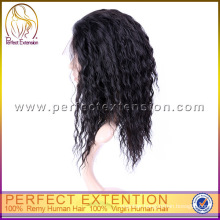 For Black Women Brazilian Remy Afro Human Hair Sexy Curly Wigs