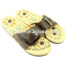 zapatos de masajeador de pies de madera