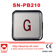 Colorful Elevator Push Button for Hyundai (SN-PB210)