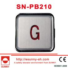 Bunter Aufzugs-Druckknopf für Hyundai (SN-PB210)