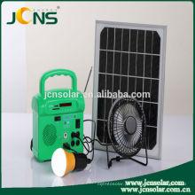 Casa do sistema solar de JCNS 40w com luzes conduzidas e carregamento móvel para o mercado de Paquistão