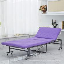 2017 Venda Quente de Alta Qualidade Dobrável Cama Designs de Metal Duplo Dobrável Guest Bed
