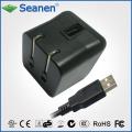 Chargeur de voyage USB pour tablette, téléphone, périphériques mobiles