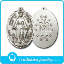 Christ Jewelry Design for Religious Pendant Stainless Steel Saint St Benedict Jesus Blessed European Style Cross Saint Pendant