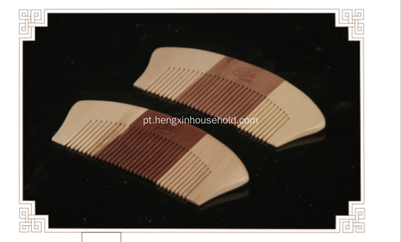 Handcraft 100% Nature Wood Moustache Comb