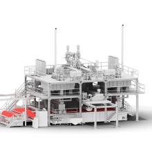 Machine de fabrication de tissu non tissé Spunbond SMS