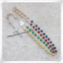 Manufacturer Supply Wooden Bead Rosary (IO-cr327)