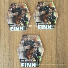 Star War Die-Cut en forme de bloc-notes imprimé Bloc-notes cadeau promotionnel