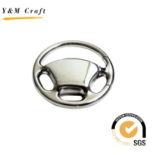 Wholesale Keychain New Design Steering Wheel Metal Key Ring Keychain (Y02423)