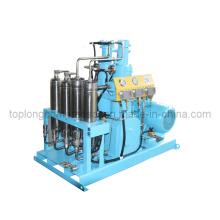 Oil Free Oilless Medical O2 Oxygen Helium Nitrogen Reciprocating Compressor (GOw-200/40)