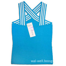 Women's Knitted Tank Top, Made of 100% Cotton