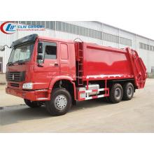 Novo caminhão de coleta de lixo SINOTRUCK HOWO 22cbm