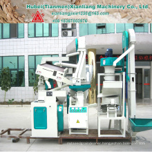 CTNM15B rice mill hammer mill with rice husking machine