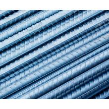 HRB335, HRB400, HRB500, Crb550, Q215 Barras de acero acanaladas