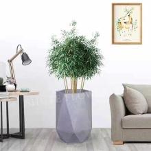 Décor d'hôtel grand pot de fleur de forme spéciale