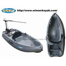 Sitzen auf der Oberseite Single Plastic Power Kayak