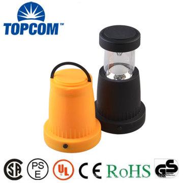 Kühle weiße Farbtemperatur (CCT) und ABS-Lampen-Körper-Material-kampierende Laterne