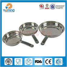 3pcs double layers stainless steel cookware pan