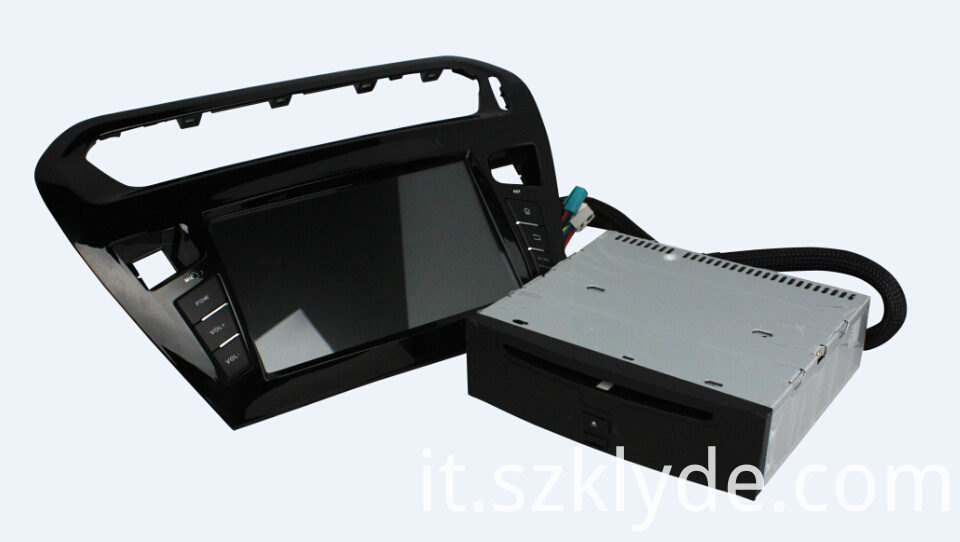 8 Inch Car DVD Player For Peugeot PG 301
