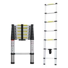 Easy stored 5 meters single sided aluminium telescopic ladders