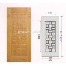 Paille de porte en placage en bois de 4.2 mm Hdf Peau de porte en placage de chêne