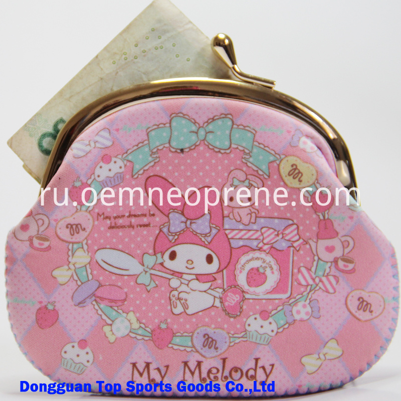 Neoprene Coin Purse