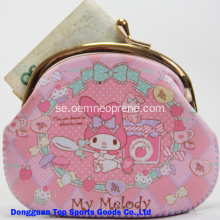 Promotional Neopren Coin Purse Med Custom Logo